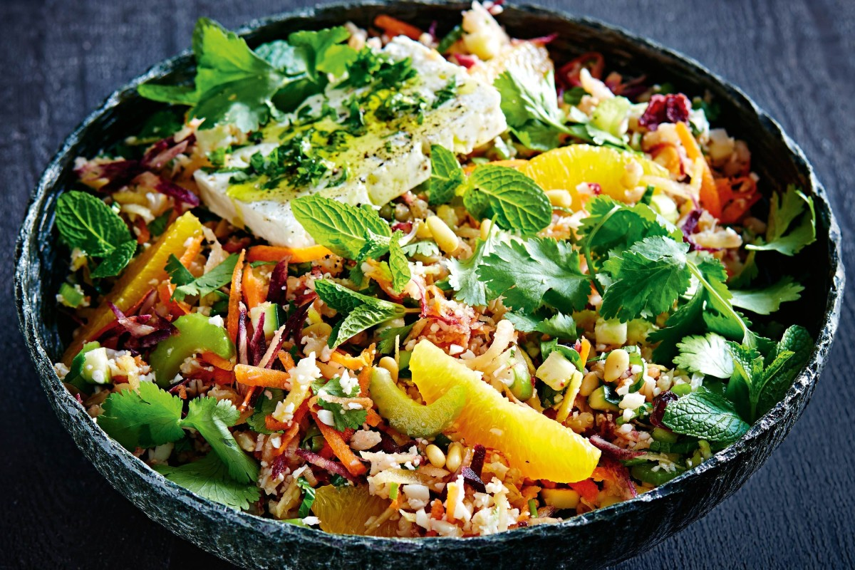Recipe of the Week: Barley and raw veg power salad