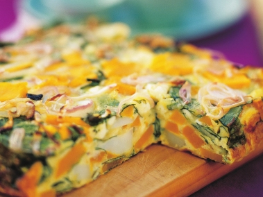 pumpkin--spinach-and-fetta-frittata